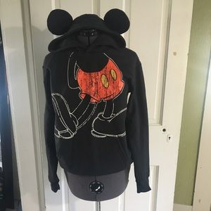 Disney Mickey Mouse hoodie with ears